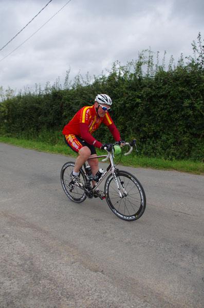 Cyclistes - Route des Monts 20142