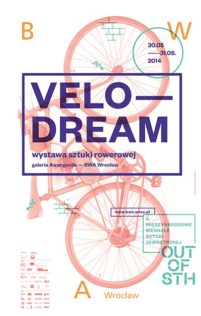 Affiche - Exposition Velodream - Wroclaw 2014