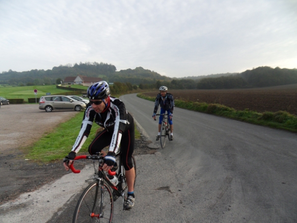 Randonnée Provin 2014 - cycliste