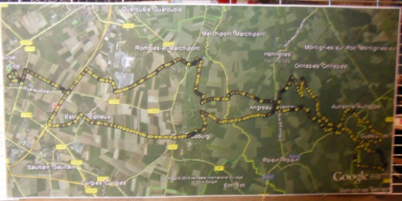 Raid des trois vallees - Saint Saulve 2014 1