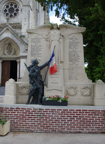 Monument aux morts - Campagne les Hesdin