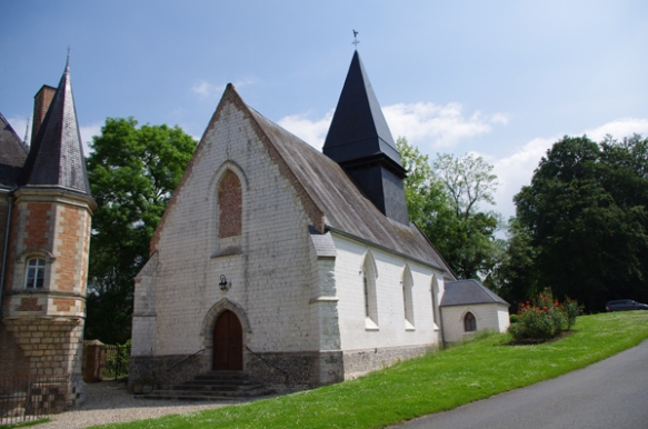 Vallée de l'Authie - chapelle