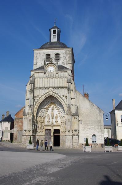 Eglise abbatiale Saint Saulve - Montreuil sur mer