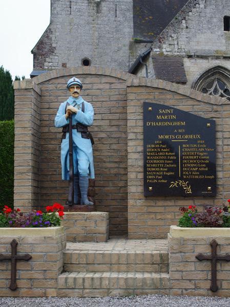 Monument aux morts de Saint Martin d'Hardinghem