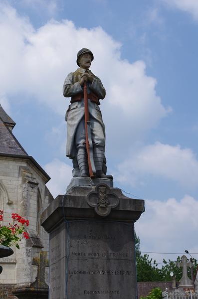 Monument aux Morts - Ponches Estruval