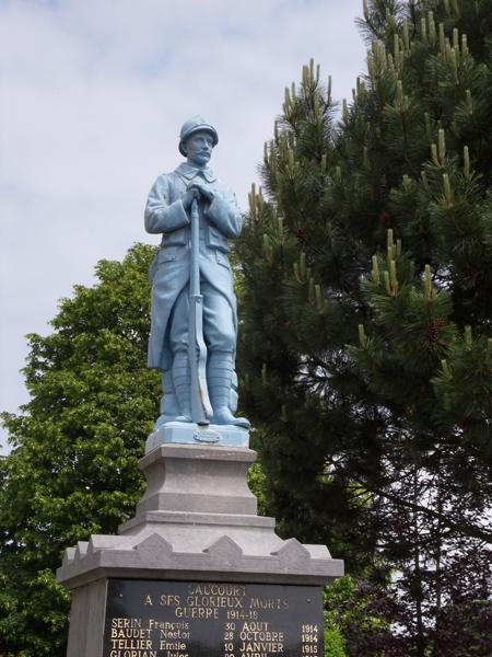 Monument aux morts de Servin
