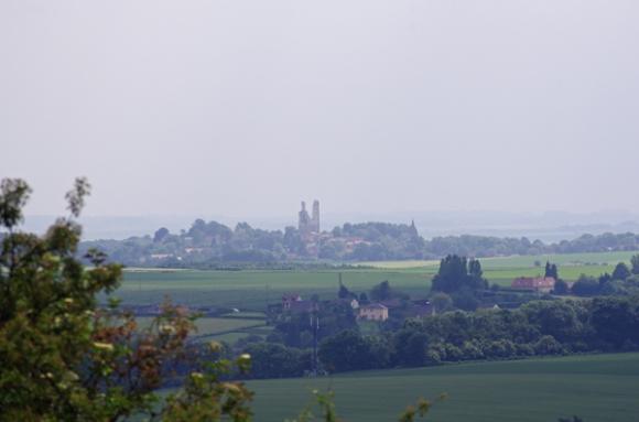 Mont Saint Eloi vu de Notre Dame de Lorette