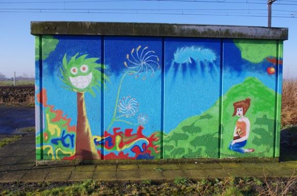 Retrouvailles 2015 - peinture murale