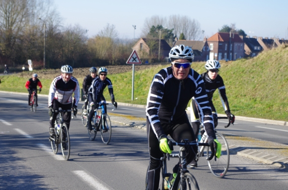 Guidon d'or Hellemmois 2015 cyclistes