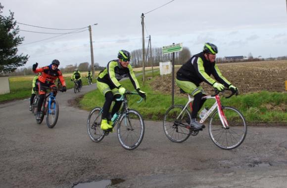 Randonnée tourquennoise 2015 - cycliste