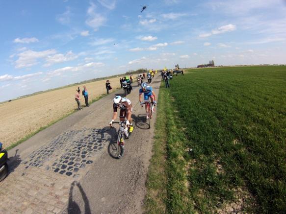 Paris Roubaix 2015 - cyclistes