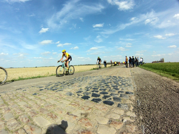 Paris Roubaix 2015 - cyclistes