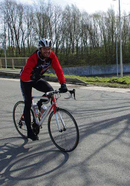Randonnée en Ferrain 2015 - cyclistes