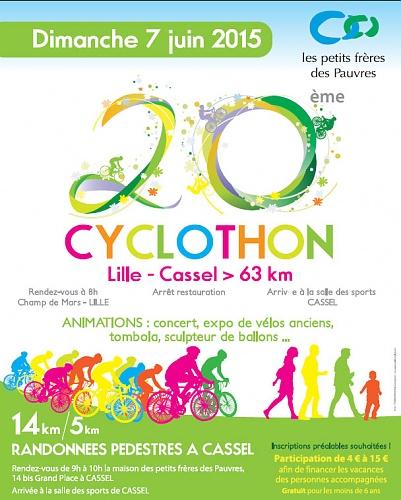 Cyclothon - Affiche 2015